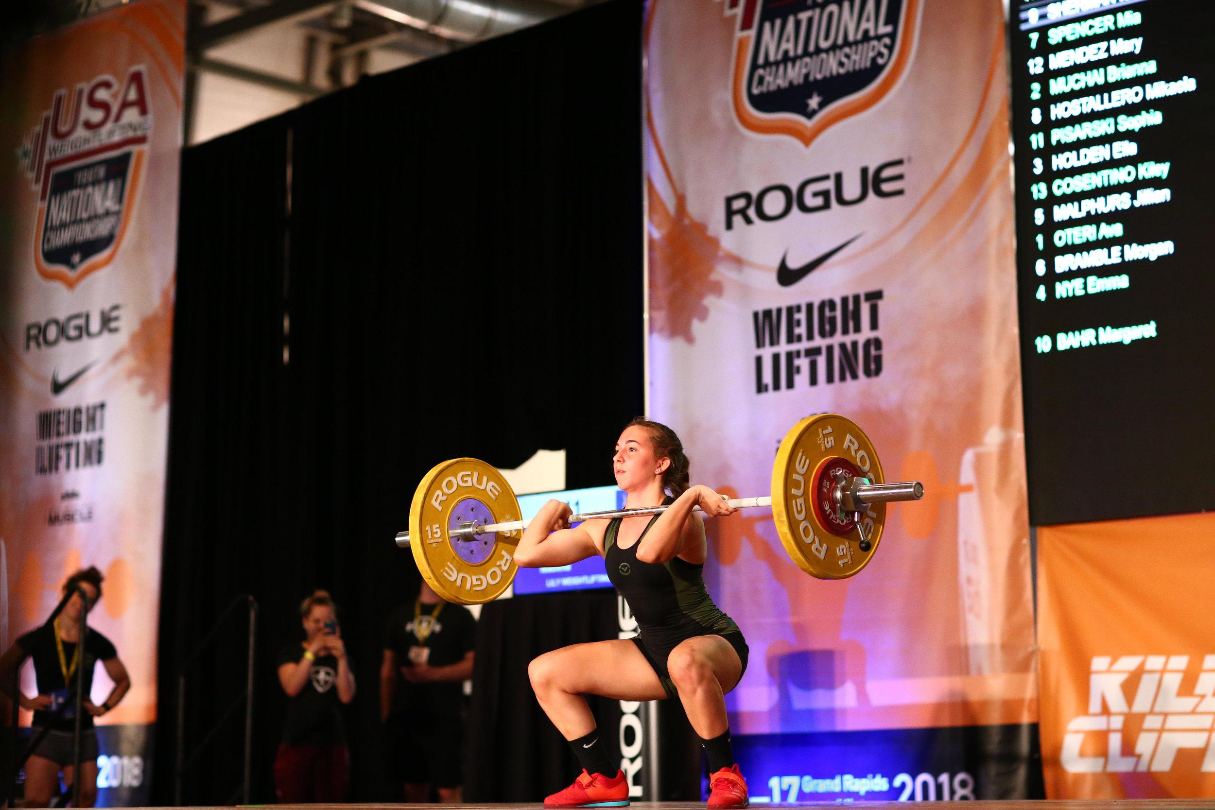 Junior Weightlifting -