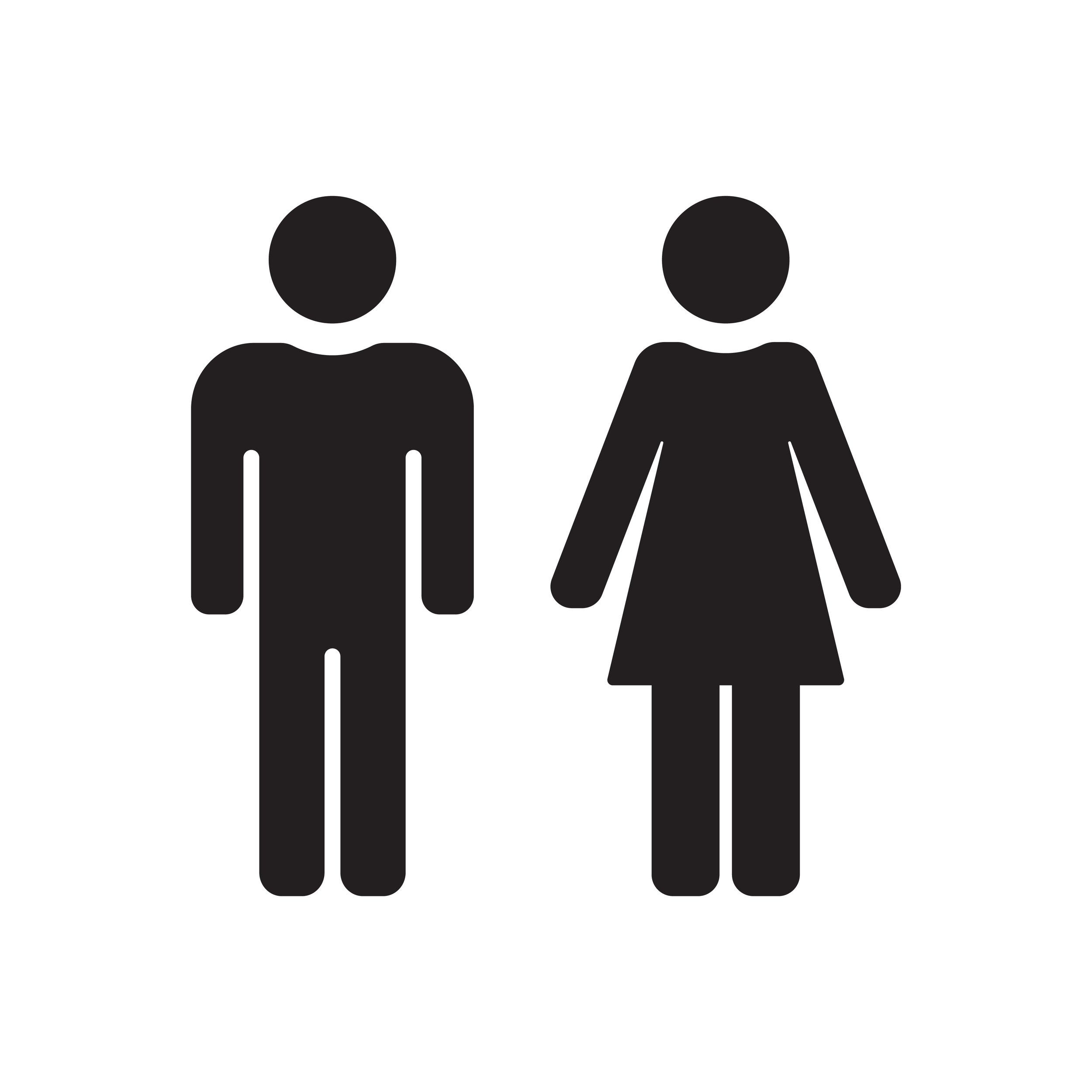 73% female to 27% male -