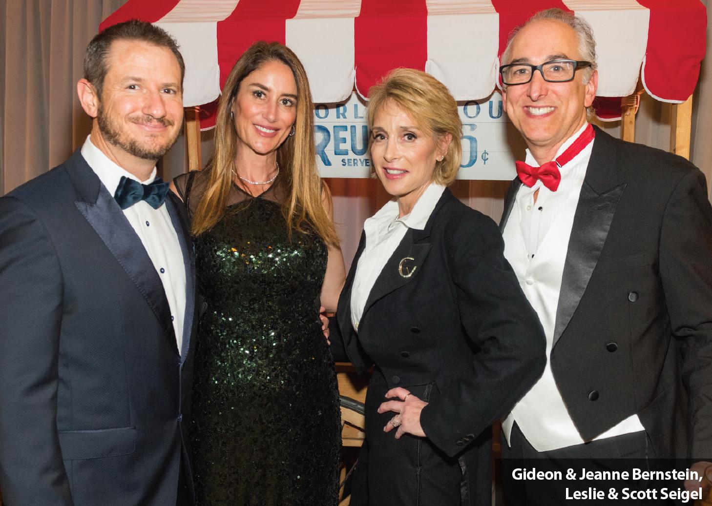 Gideon & Jeanne Bernstein, Leslie & Scott Seigel
