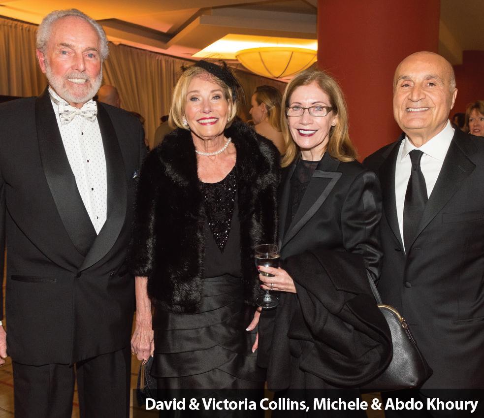 David & Victoria Collins, Michele & Abdo Khoury