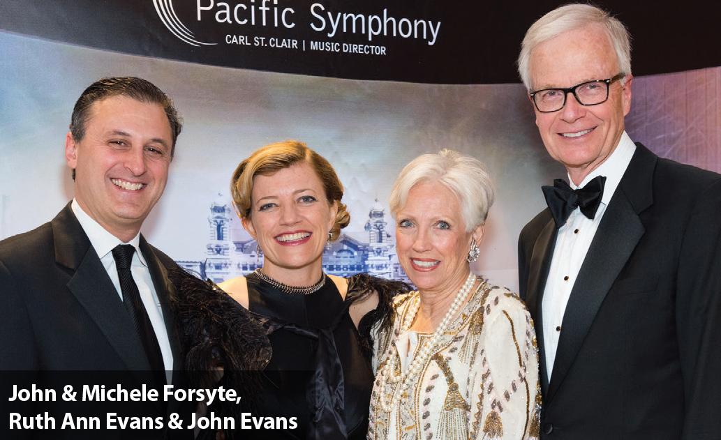 John & Michele Forsyte, Ruth Ann Evans & John Evans