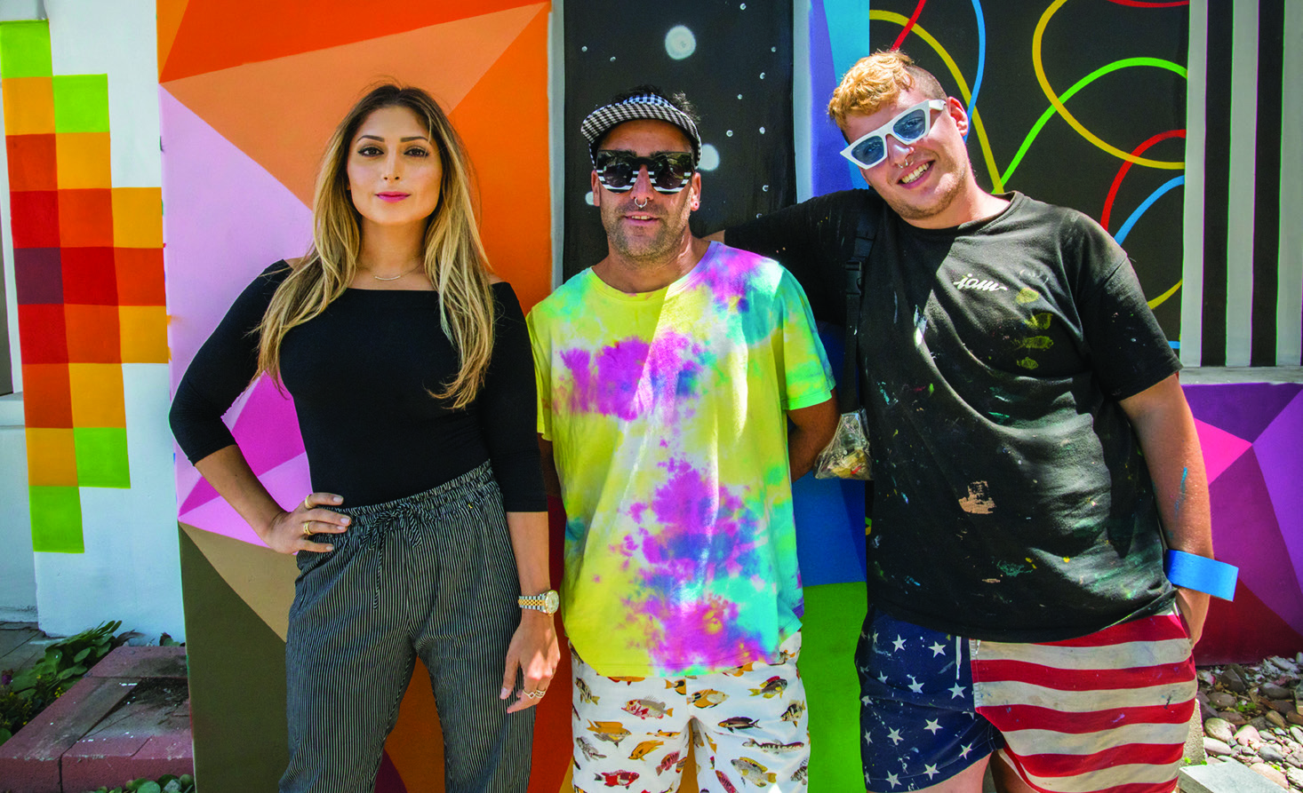 SUMMER OF COLOR 2018 MURALS:  Presented by Laguna Creative Ventures   Curated by Torrey Cook and Ben Rubin