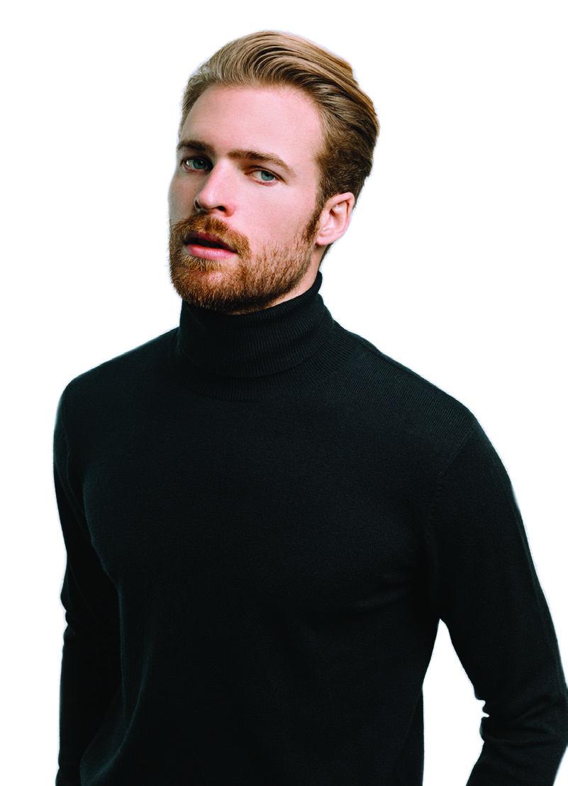Turtleneck sweater in cashmere   The ultimate fall essential, offers endless layering possibilities. $695.00