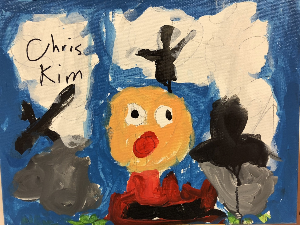 Ant-Man in Acrylics  By Chris K