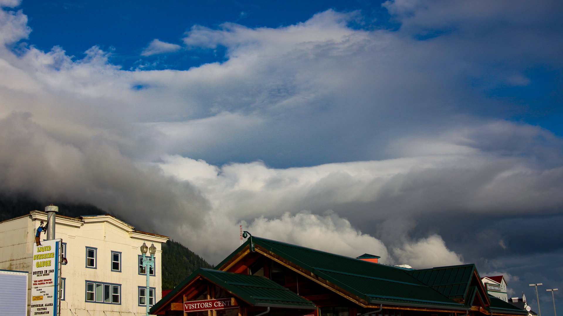 I have always been fascinated with clouds and the ones in Alaska were incredible!