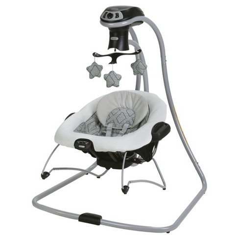 - Graco Duet Connect LX Multi-Direction Baby Swing and Bouncer