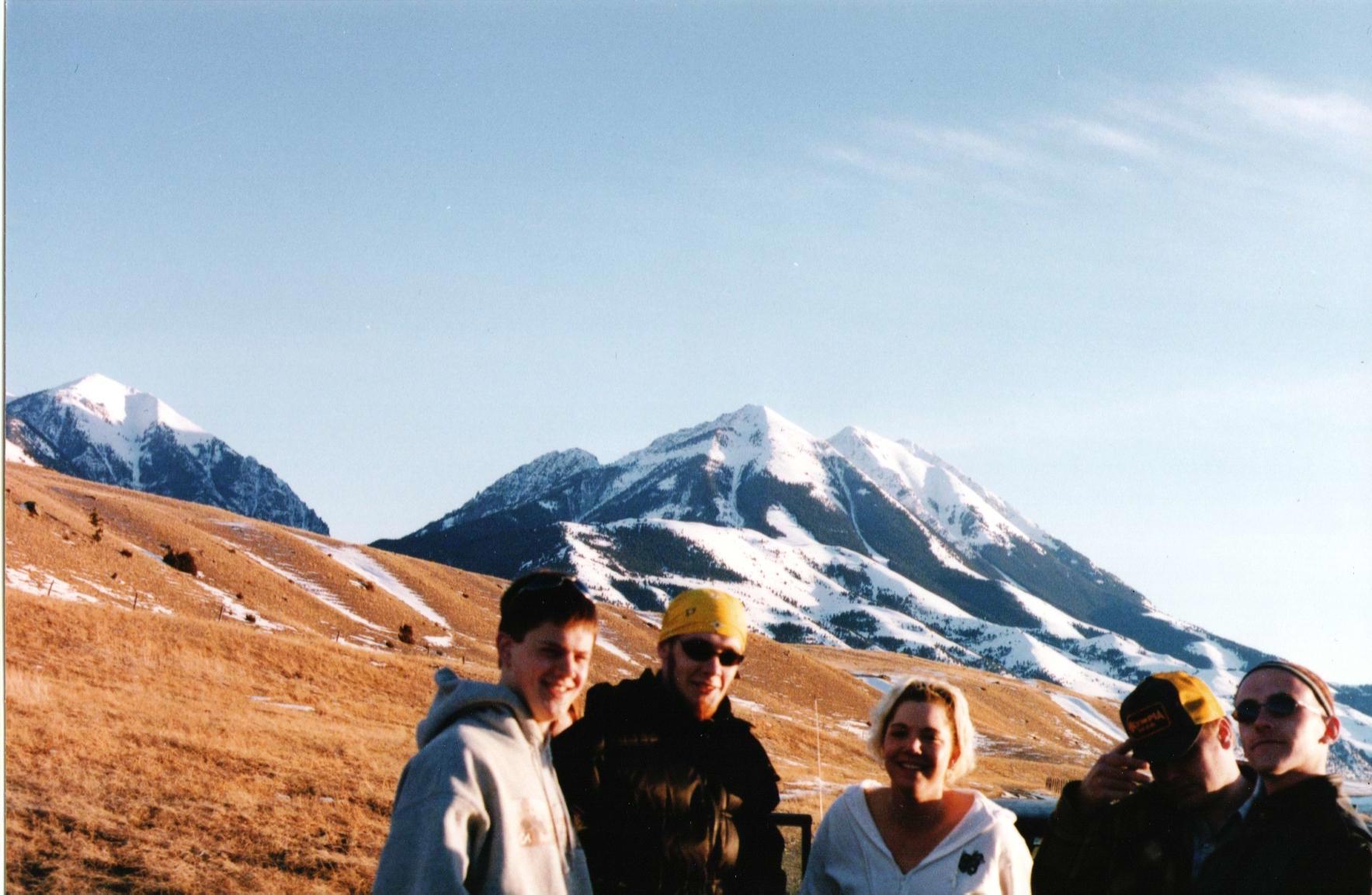 Big Sky friends – Bozeman, Montana–1998ish