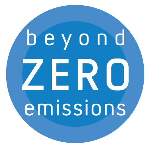 Beyond Zero Emissions   Beyond Zero Emissions is a climate change think tank, showing through independent research and innovative solutions how Australia can reach beyond zero emissions.