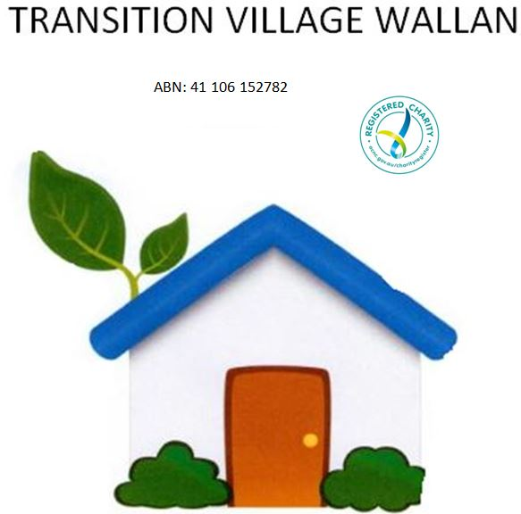 Transition Village Wallan   Based in Wallan, a semi-rural town on the urban fringe north of Melbourne, Victoria, Australia, Transition Village Wallan is a local non-profit organisation working towards whole community change to support a safe, sustainable and connected way of life for all members of our community.  Transition Village Wallan is embarking on a project to build a village of Tiny Houses, utilising sustainable living and design practices, for people experiencing (or at risk of) homelessness in and around Wallan.