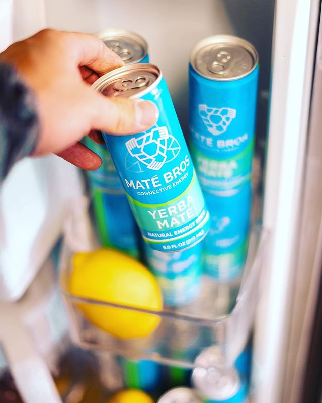 Keeping things fresh! Our half and half mix will give you an all natural energy boost 🍋  #MateBros #YerbaMate #SimplyEnergy #KeepItClean
