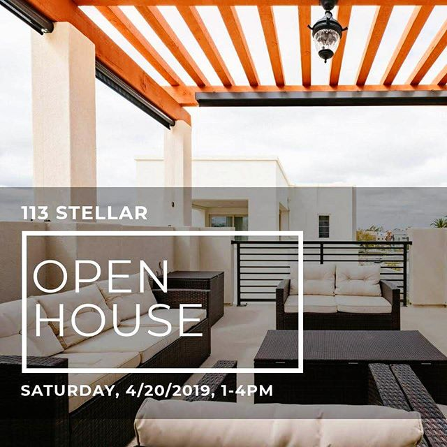 4/20 is coming... Feeling high just thinking about this open house 😏 Join me this Saturday at 113 Stellar from 1-4pm. No weed(s) at this property; just a huge price reduction! 😎 www.113stellar.com