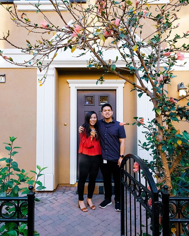CONGRATULATIONS to Patrick & Anita. The past month has been a whirlwind of activity - Patrick found me on Yelp 28 days ago, fell in love with the 2nd house I showed them, and we closed on their new Tustin home in 21 days! I am so happy I had a part in these two big smiles. 😄😄