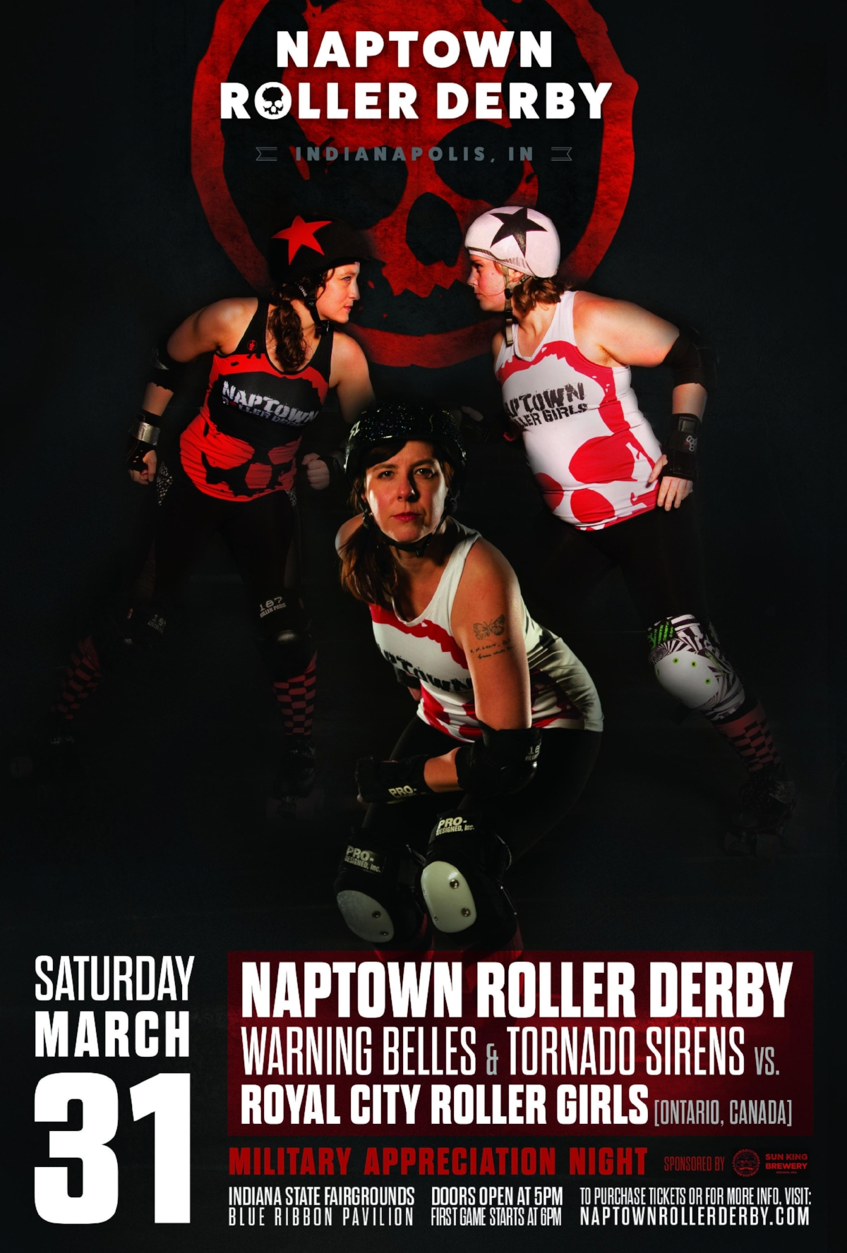 March 31, 2018 - Naptown vs. Royal City!