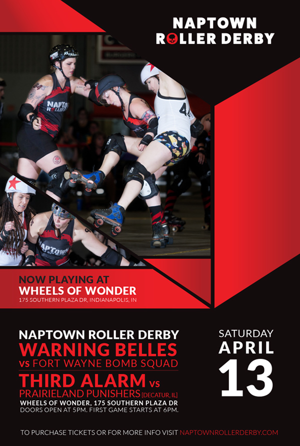 April 13, 2019 - Naptown Home Bout 3