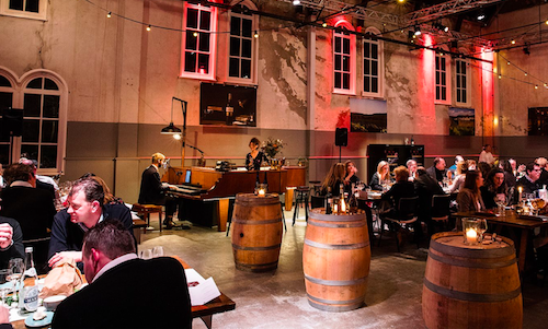 The Piano Bar - Amsterdam Wine Festival - Chefkok Ron Blaauw
