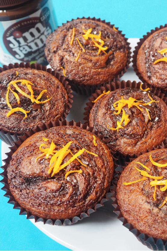 Skinny Orange & Choc Muffins