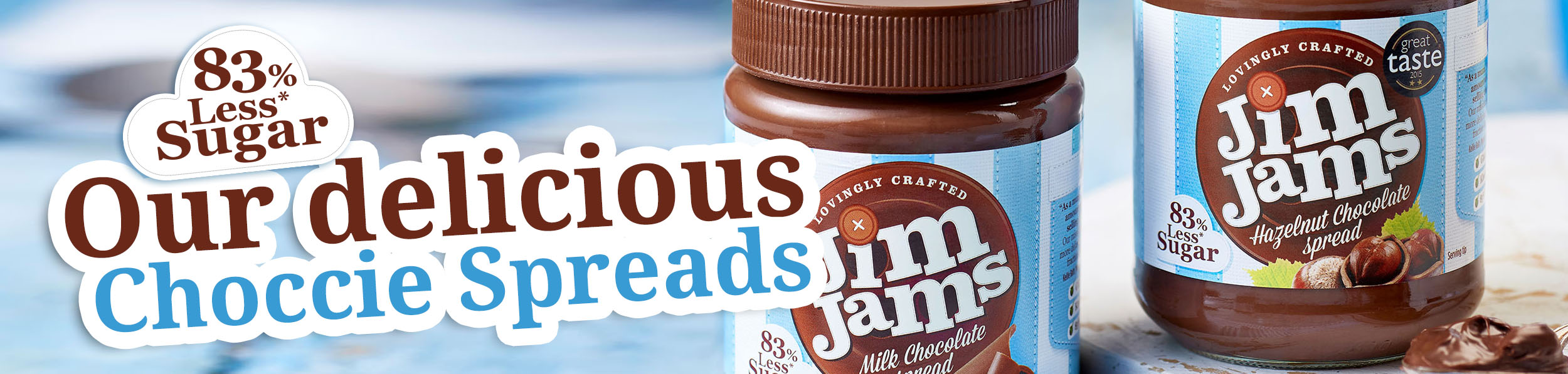 Our delicious choccie spreads