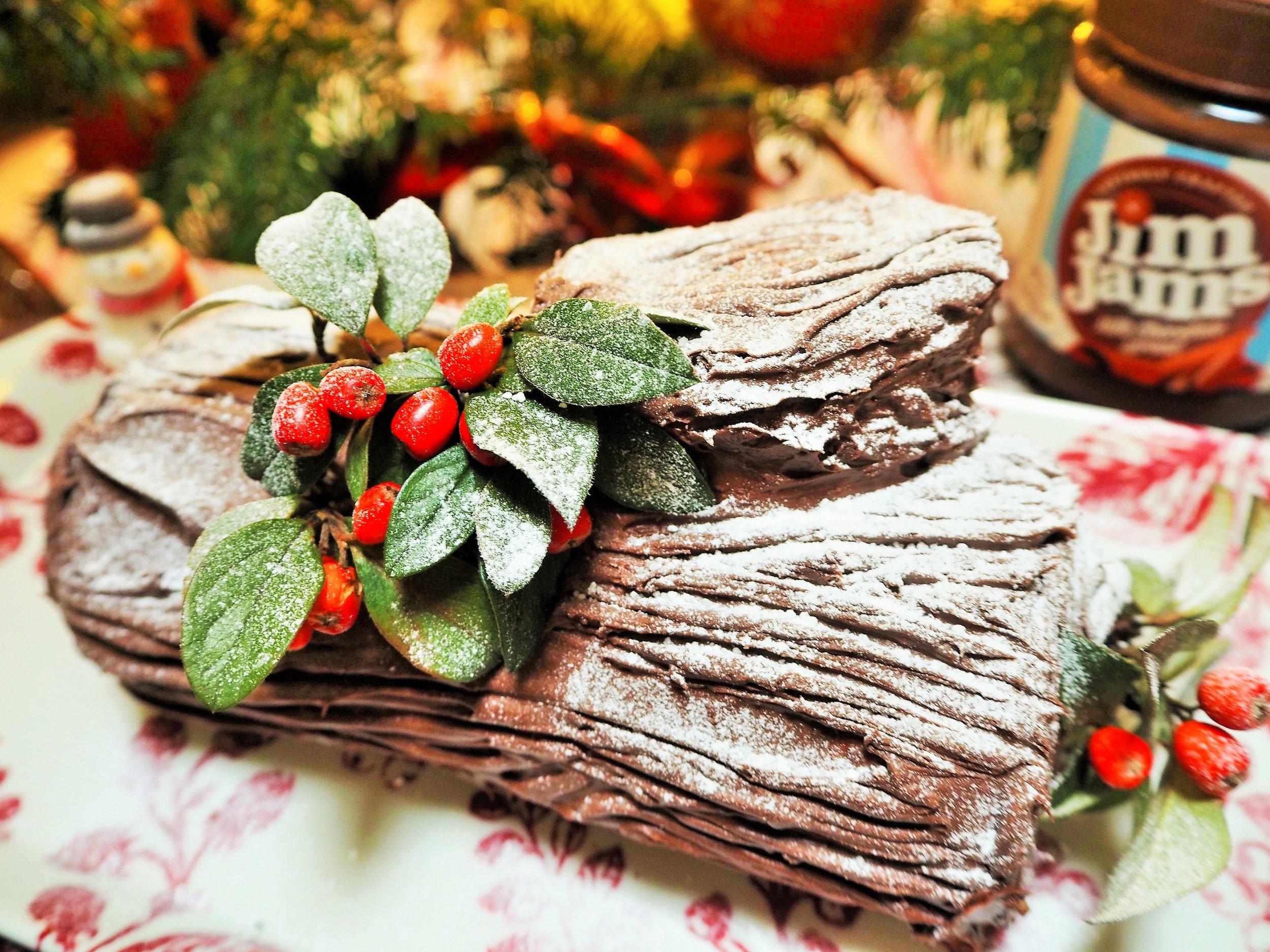 Reduced Sugar Yule Log