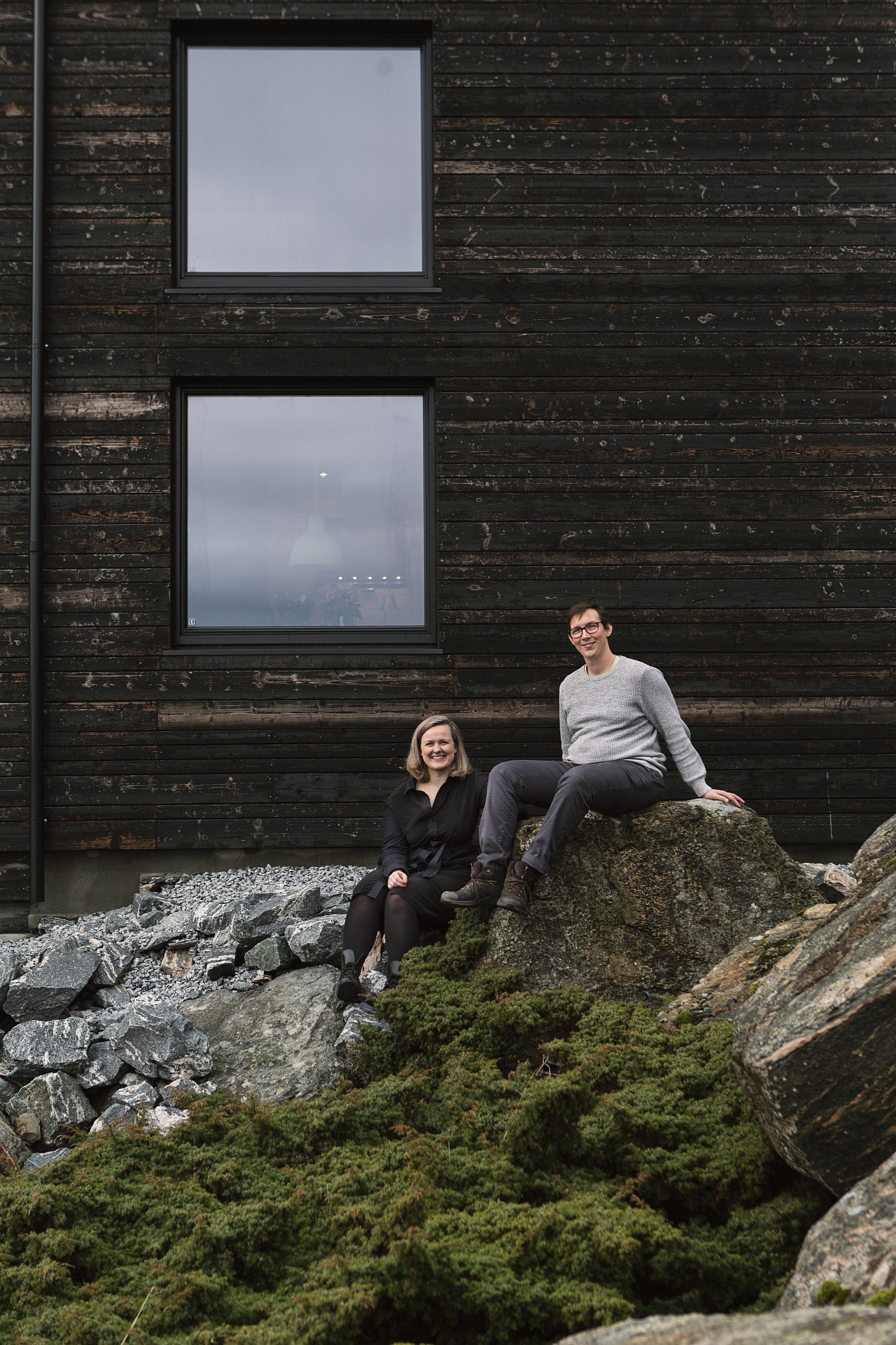 Hadar og Sylvelin for Adressa Hjem