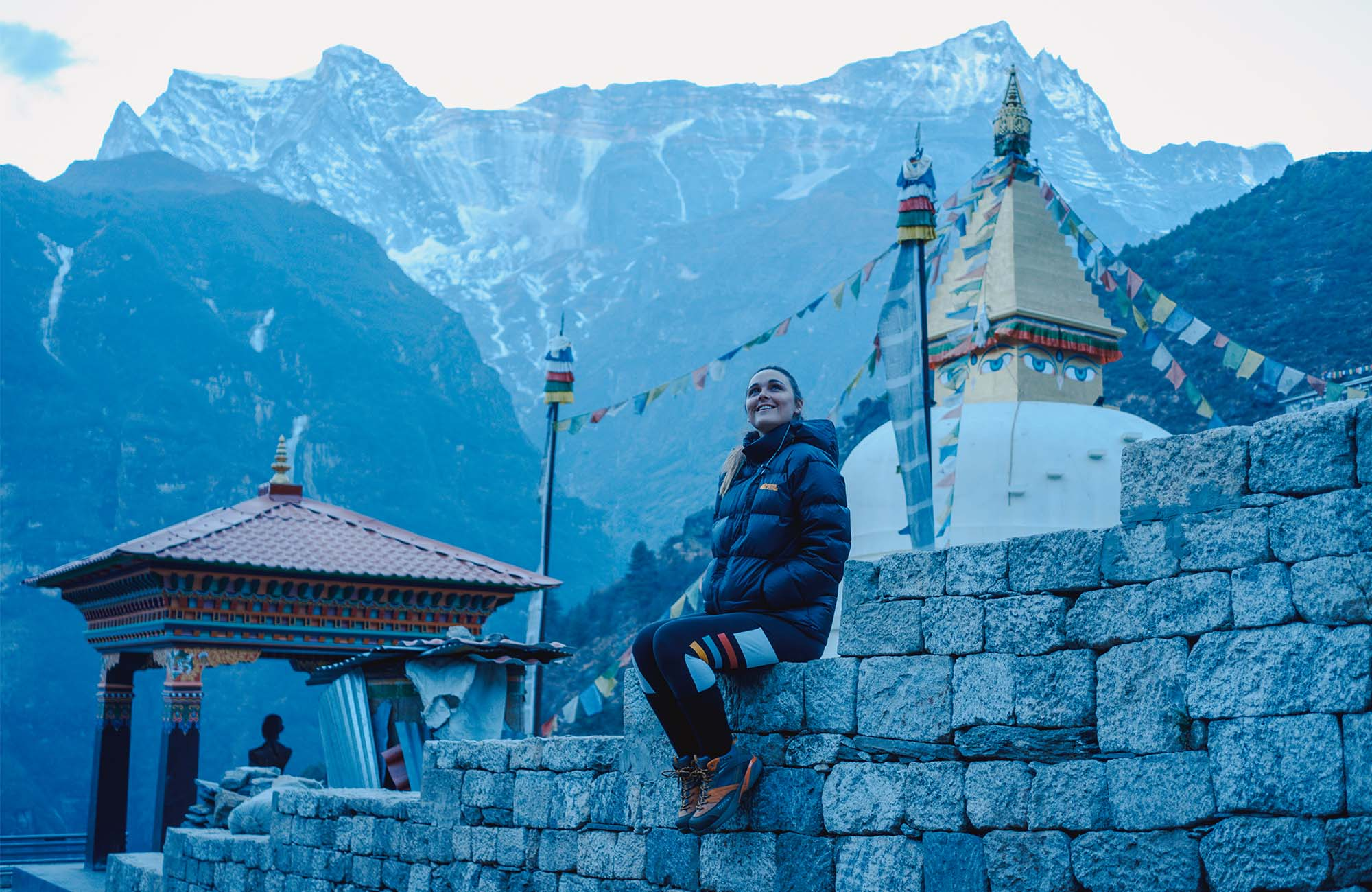 As we made our way up to Namche Bazar, the temperatures started to drop to well below zero at night, and the scenery started to get more and more stunning.