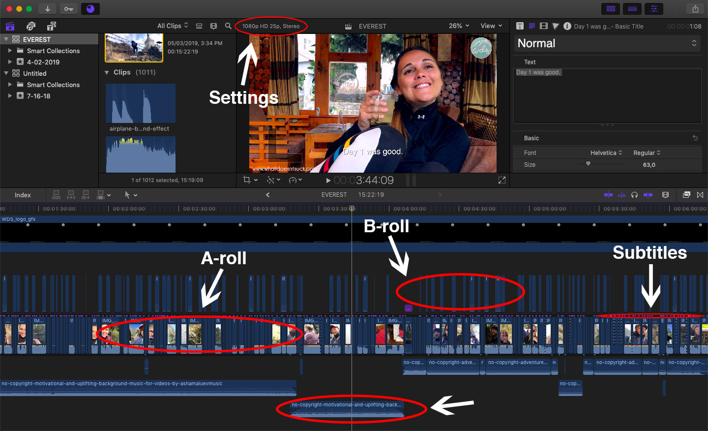 How To Edit a Travel Video: The Complete Guide 02