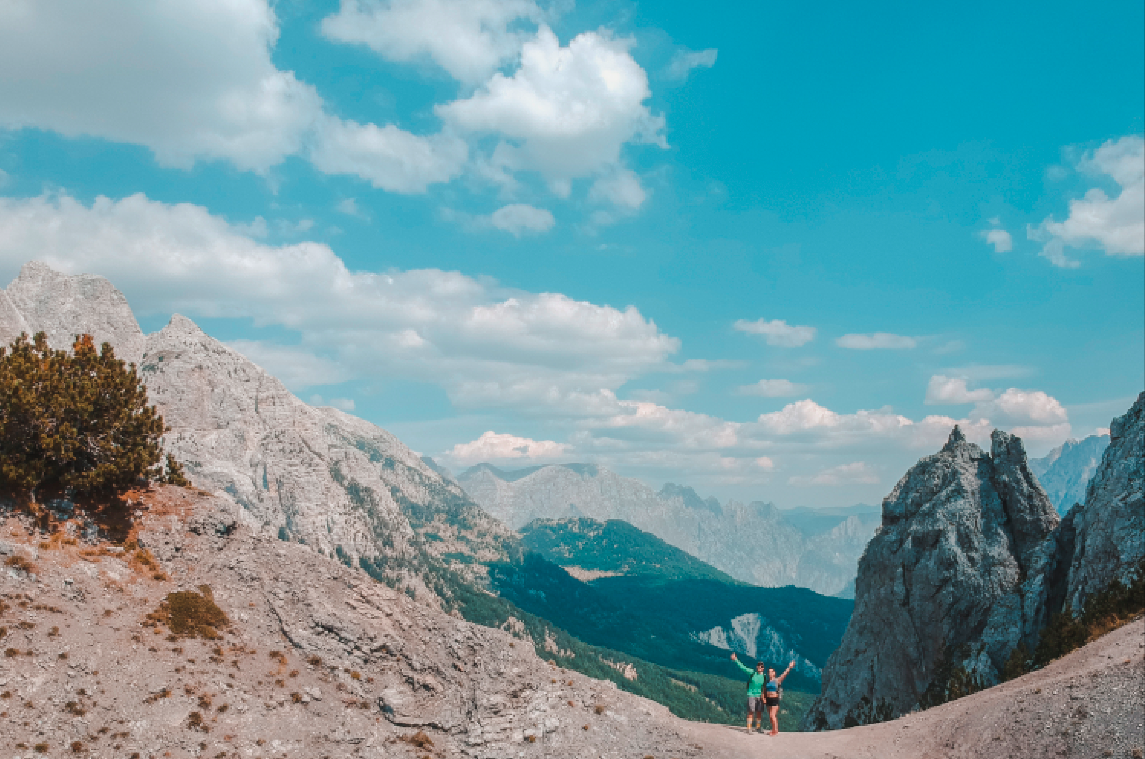 Theth-Valbona Pass, Albania, 2019