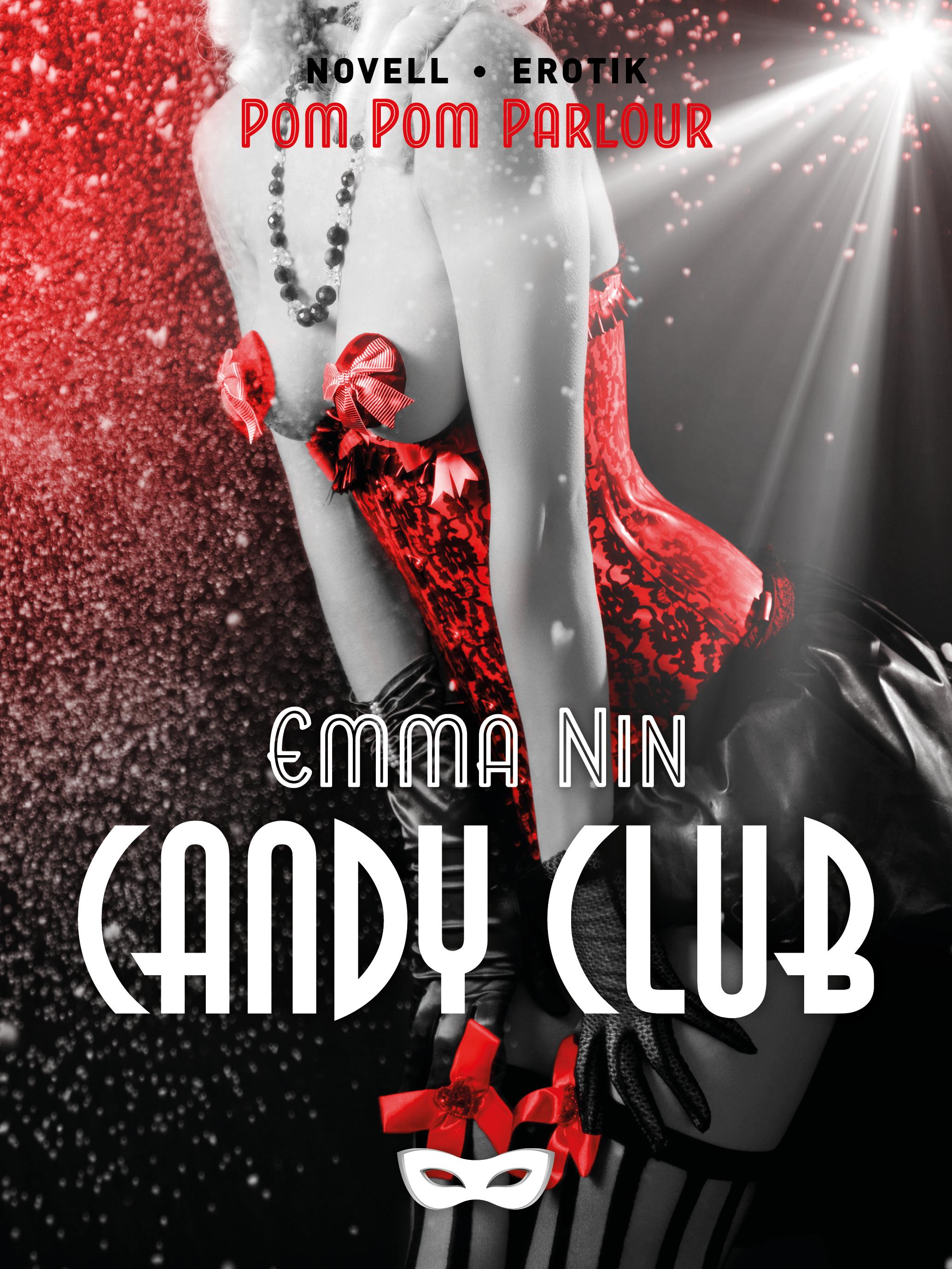 Candy club   Sofia möter upp sina vänner på Bromma flygplats för en resa till okänt mål. Allt hon har fått veta är namnet Candy Club. Det visar sig bli ett magiskt dygn med glitter, champagne, klackar och het sex.   Storytel   nextory   bookbeat   adlibris   bokus   ibook