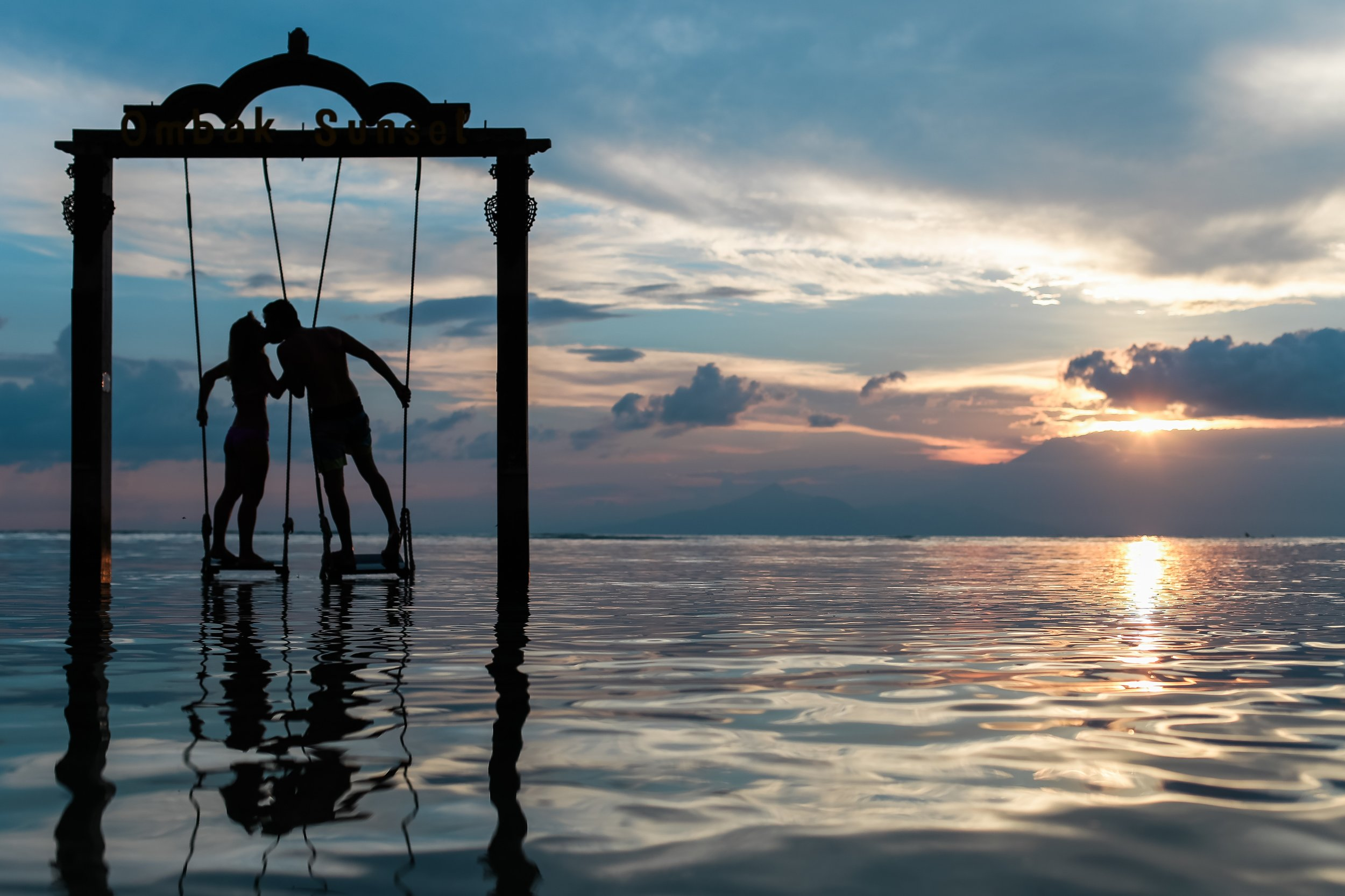 Gili T Sunset Kiss