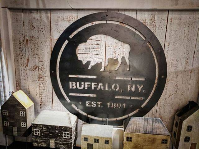 Show your #Buffalove ♥️ with the [nest]collection of #Buffalowallart @NestintheVillage in the @V_Williamsville