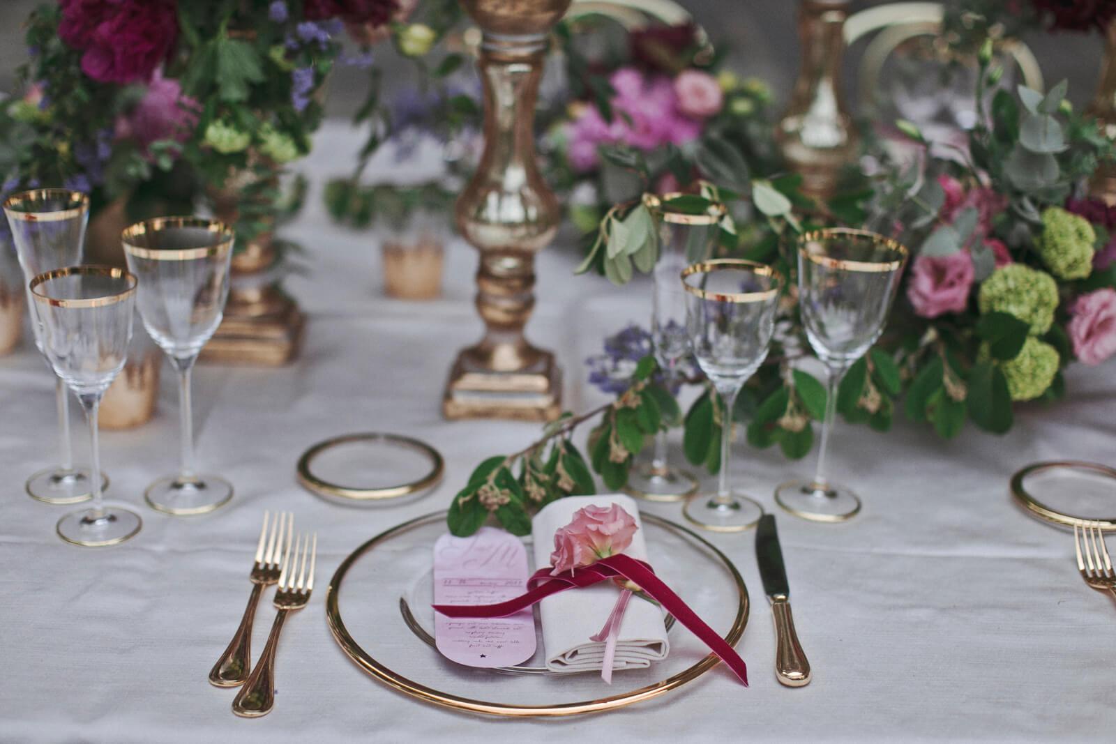 Baroque wedding stationery