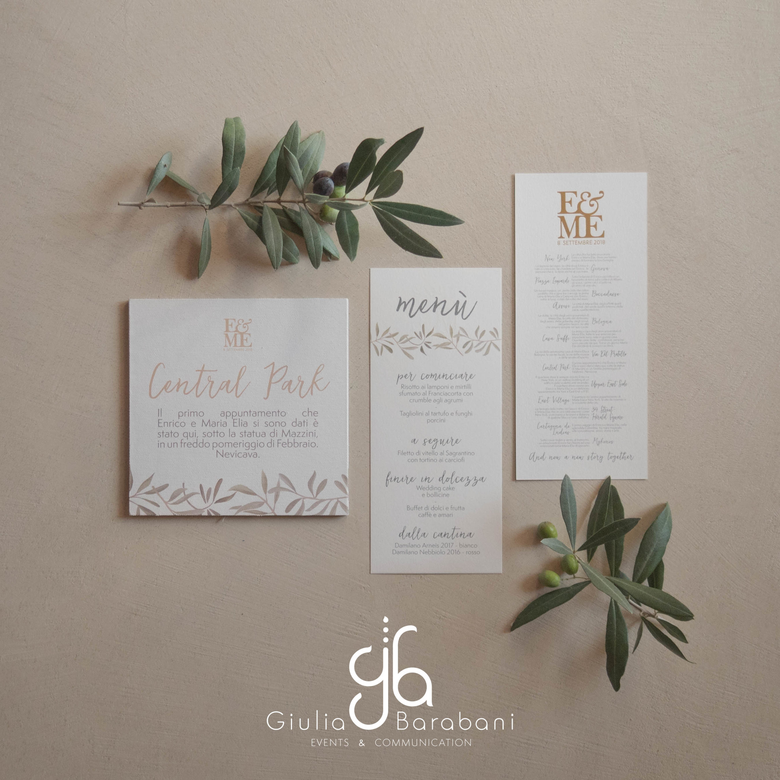 Tableau matrimonio - wedding stationery