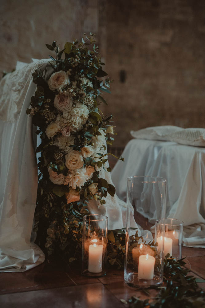 Elegant wedding in Assisi abbazia di San Pietro