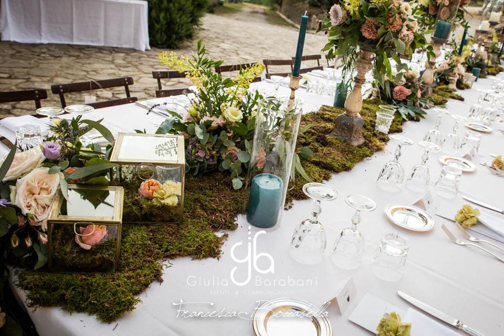 Tavolo imperiale - foto  Francesca Boccabella