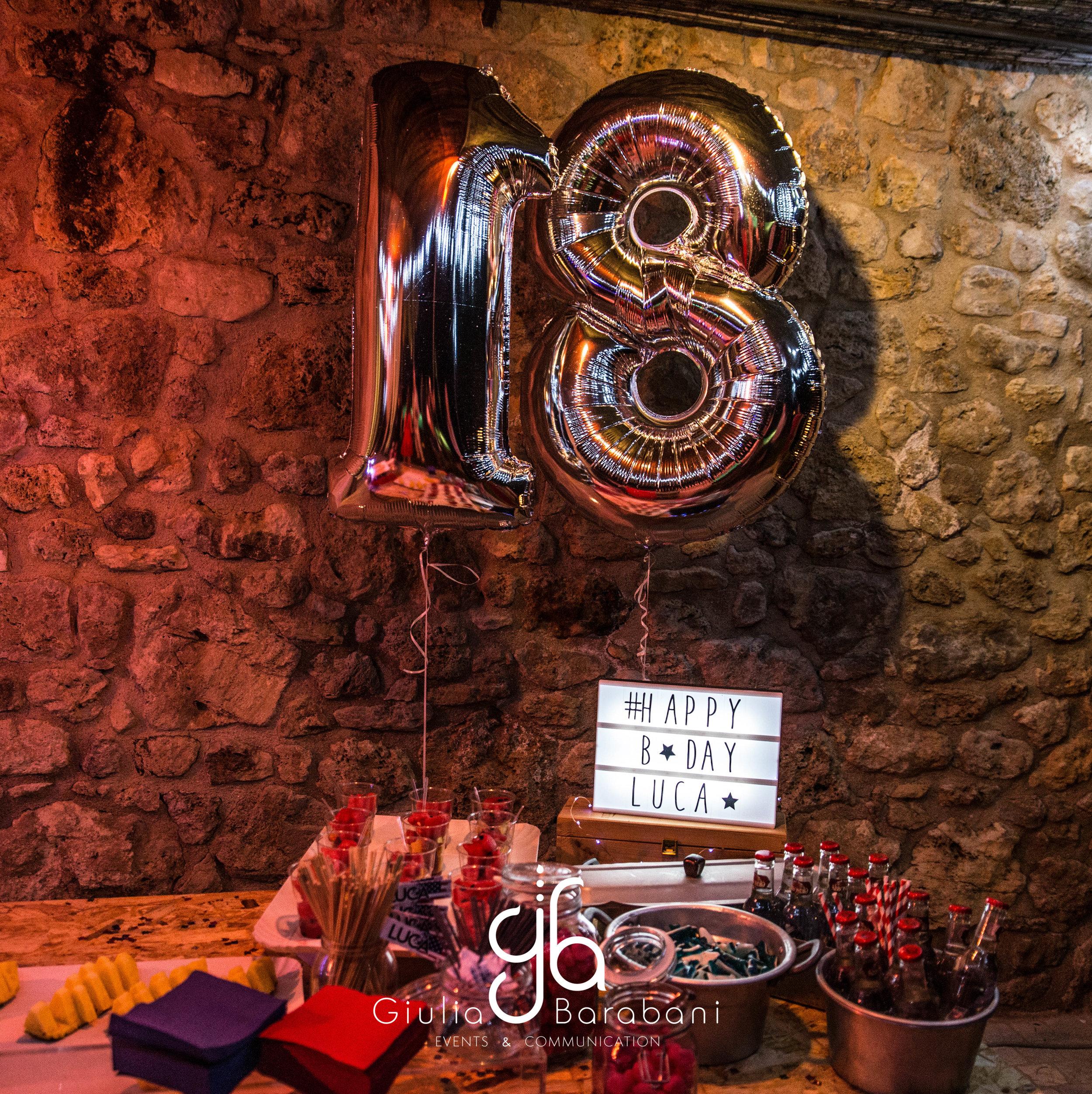 Italia+USA Party - 18 compleanno