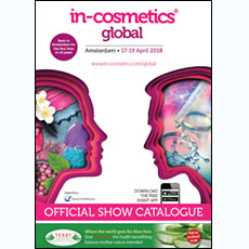 in-cosmetics Global Catalogue 2018   in-cosmetics@showtimemedia.com
