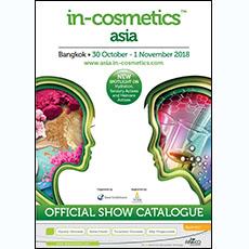 in-cosmetics Asia Catalogue 2018   in-cosmetics@showtimemedia.com