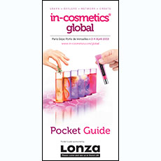 in-cosmetics Global Pocket Guide   in-cosmetics@showtimemedia.com