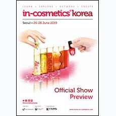 in-cosmetics Korea Preview - English   in-cosmetics@showtimemedia.com