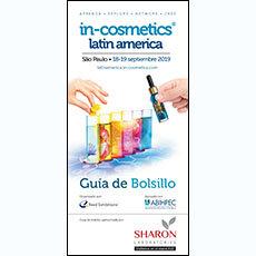 in-cosmetics Latin America Pocket Guide 2019 - SP   in-cosmetics@showtimemedia.com