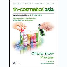 in-cosmetics Asia Preview 2019   in-cosmetics@showtimemedia.com