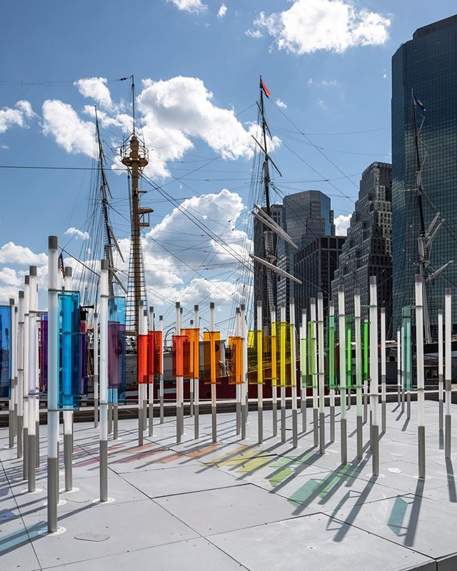 #thenautilus New work for @softlab.nyc commissioned by @atlanticrethink for @Lincoln. Now up at @pier17ny