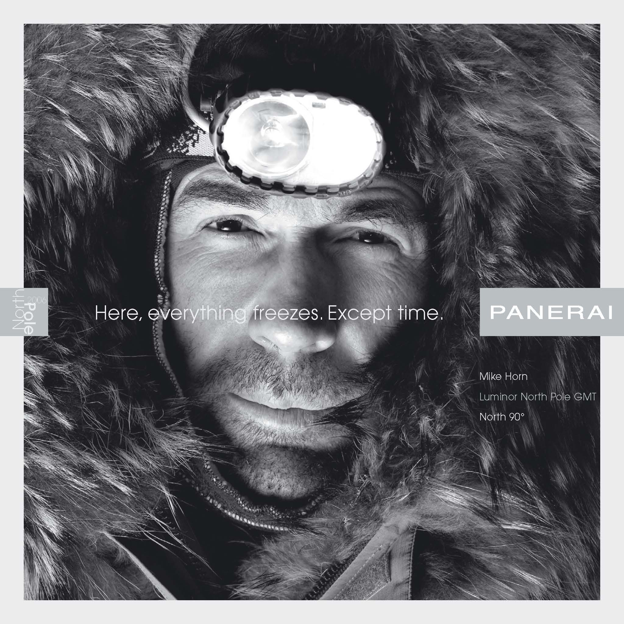 Panerai • North Pole Expedition | collateral, web