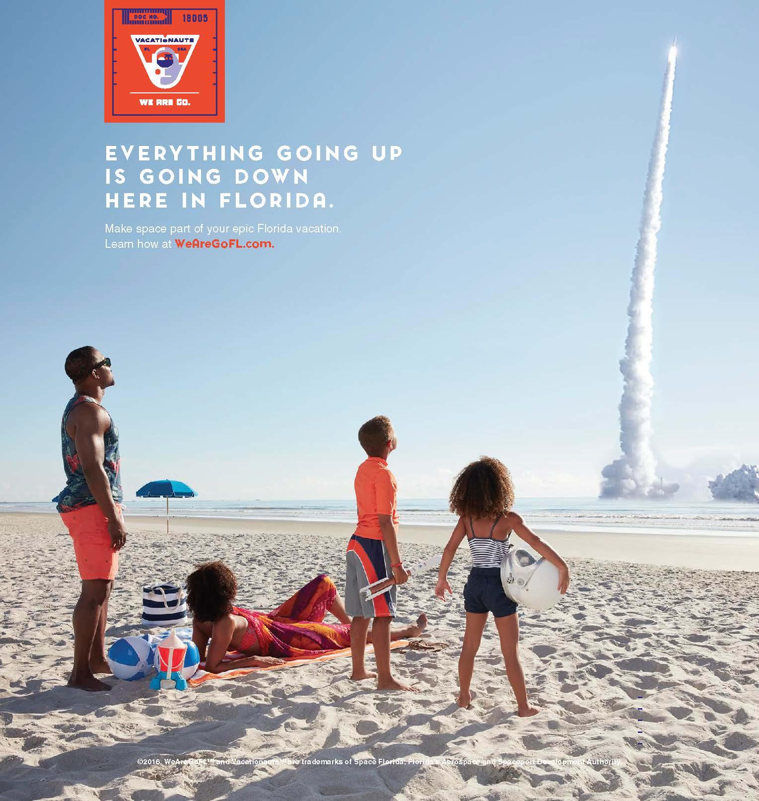 Space Florida   digital, print