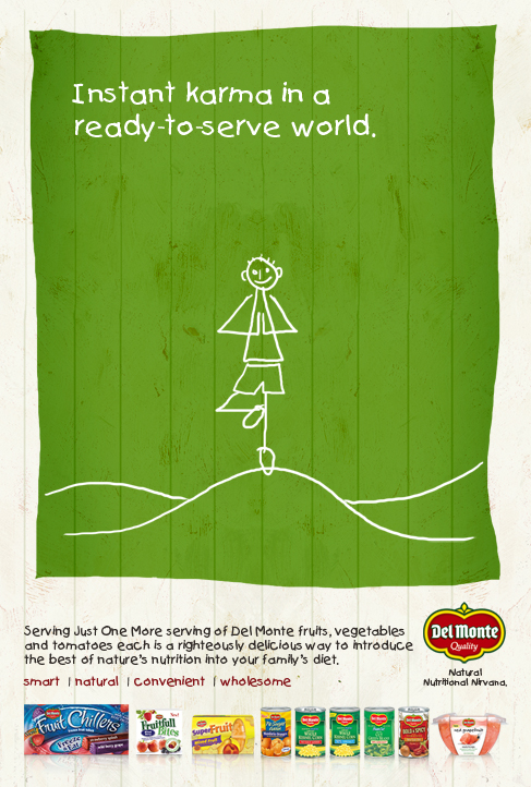 Del Monte | print, digital // concept, copywriting, design