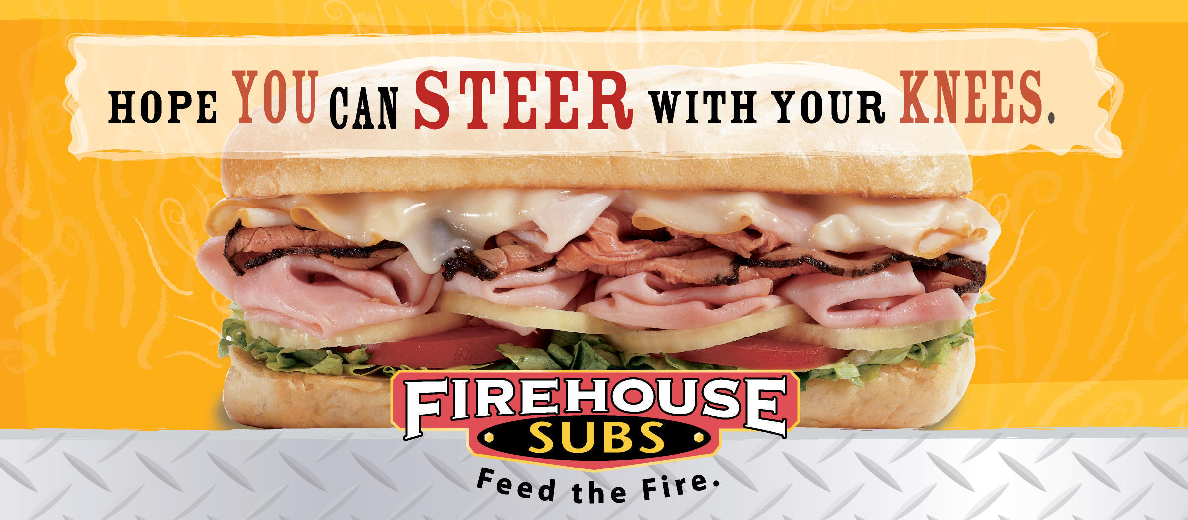 Firehouse Subs | OOH, POS, video, radio, print // concept, creative direction, copywriting, art direction, production