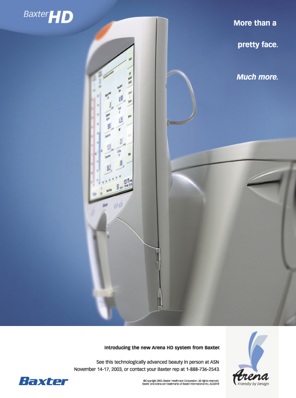 Baxter Medical | print, collateral, trade show booth // concept, copywriting, art direction