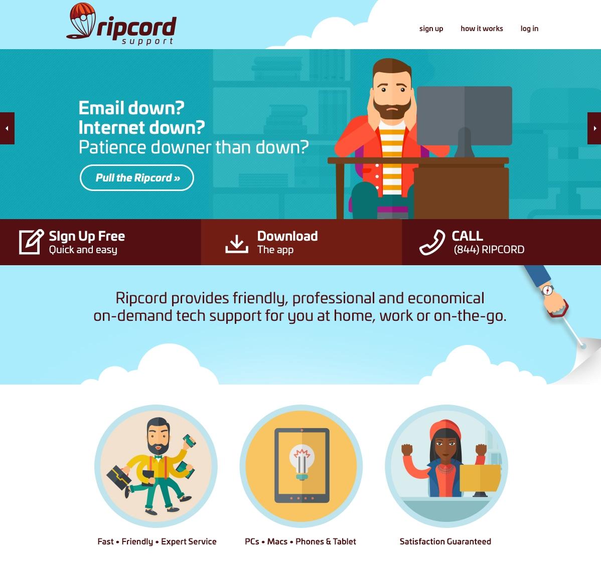 CLICK TO VISIT RIPCORDSUPPORT.COM