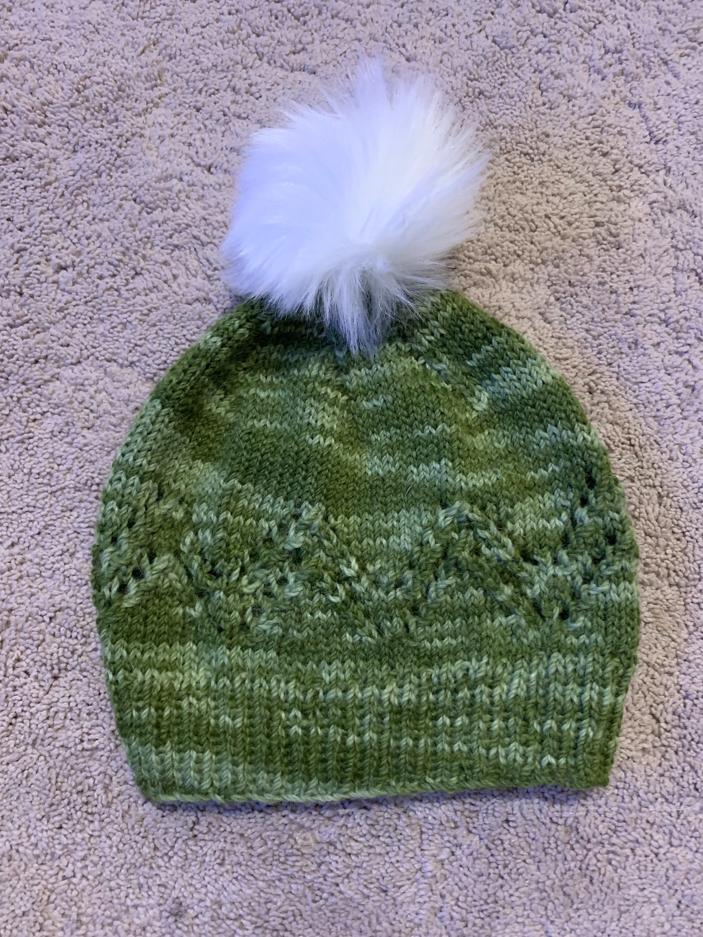 Pennyroyal Hat in Knit Crate Yarn