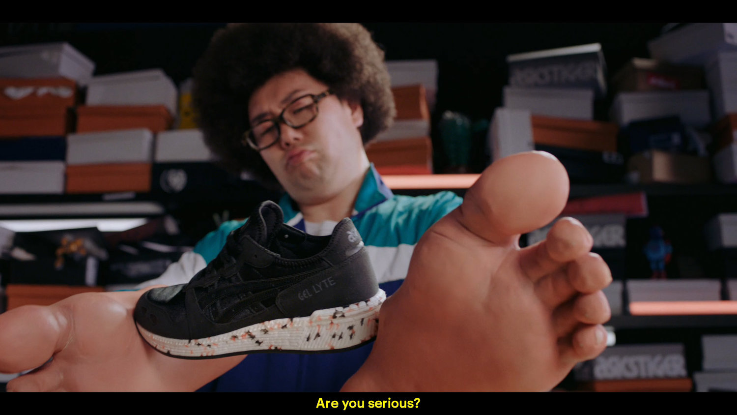 ASICS - What The Gel? - Commercial