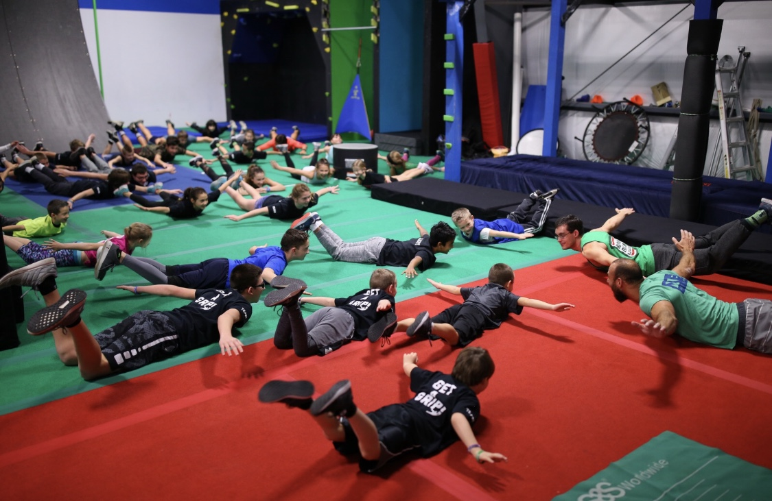 We are a non-profit organization helping kids facing obstacles in their lives to build connection, resilience and growth mindsets through trauma-informed community building events and partnerships within the Ninja Warrior Community. -